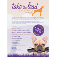Take the Lead – Graphic Design, Logo, Stationery & Flyer